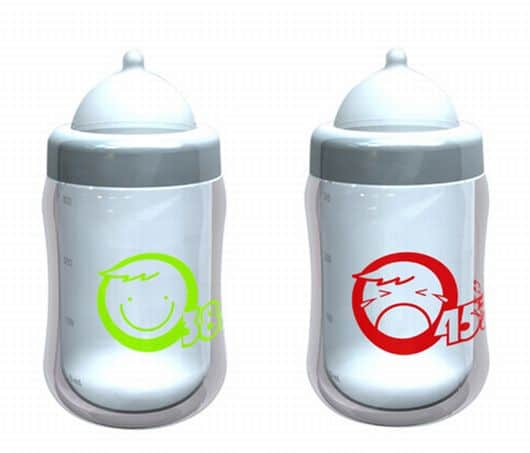 Temperature sensitive Baby's Bottle